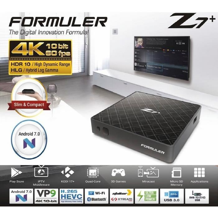 Formuler Z7+ opiniones