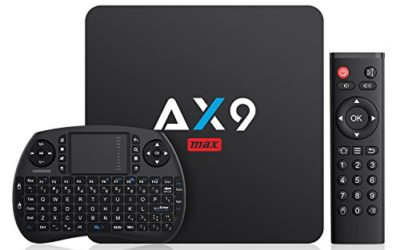 Voici notre test & avis à propos de la Box TV Bqeel AX9 Max