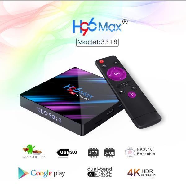 H96 Max Plus Amlogic S905 X2: aquí está nuestra prueba y opinión